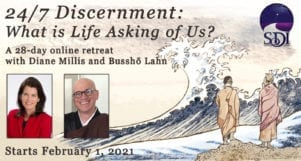 24/7 Discernment: A 28-day Online Retreat with Diane Millis and Bussho Lahn